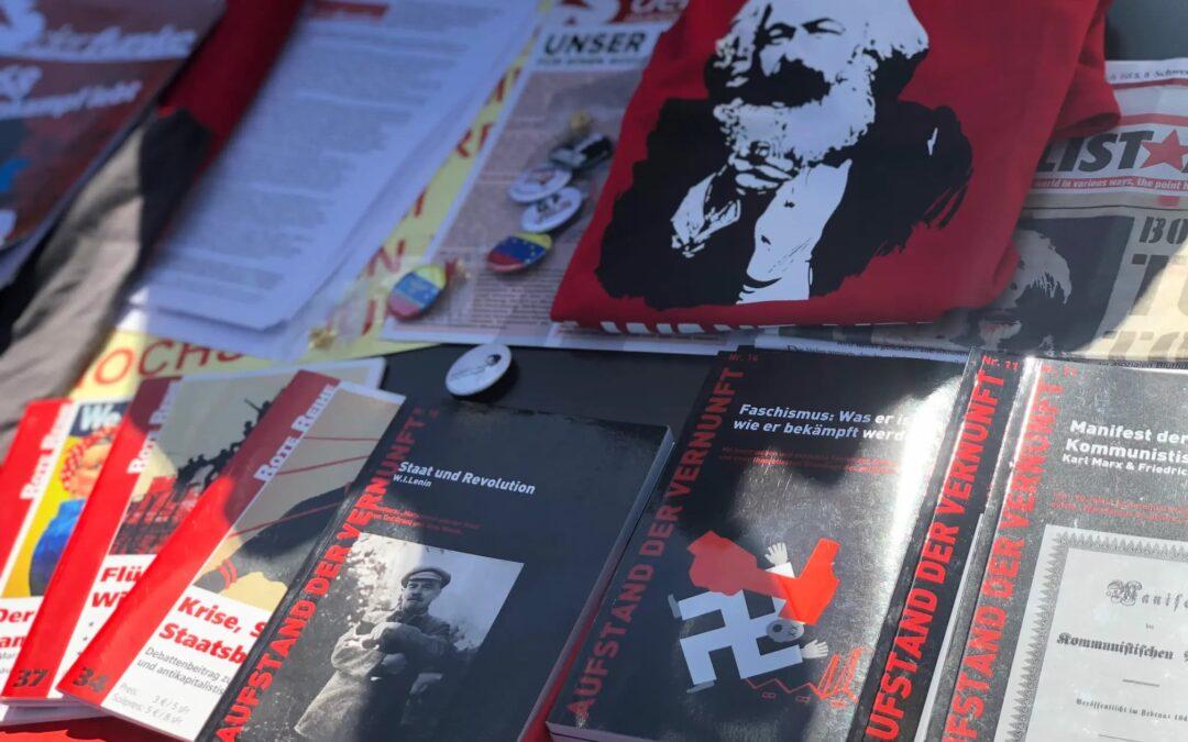 Karl Marx riep op tot geweld, en roept nog steeds op tot geweld