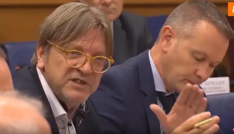 Intimidatiepraktijken in Europees Parlement tijdens 'Facebook Hearing' – De vernietiging van de democratie gaat Guy Verhofstadt niet snel genoeg