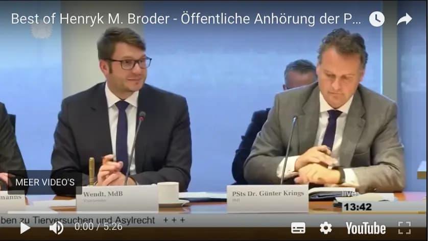 De angstaanjagende staat van de Duitse democratie: Openbare hoorzitting over petitie tegen illegale immigratie stuit op muur van onwil