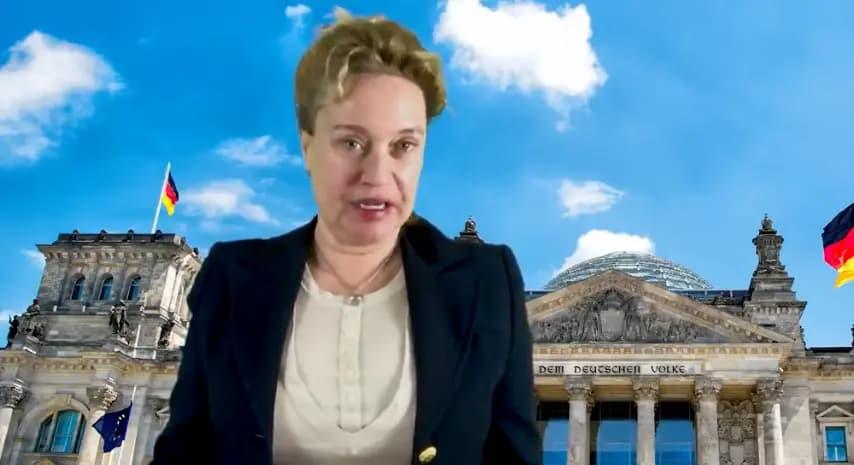 Merkel-kritische journalist Claudia Zimmermann: 'Als het aan Duitse omroepen ligt is mijn carrière voorbij'