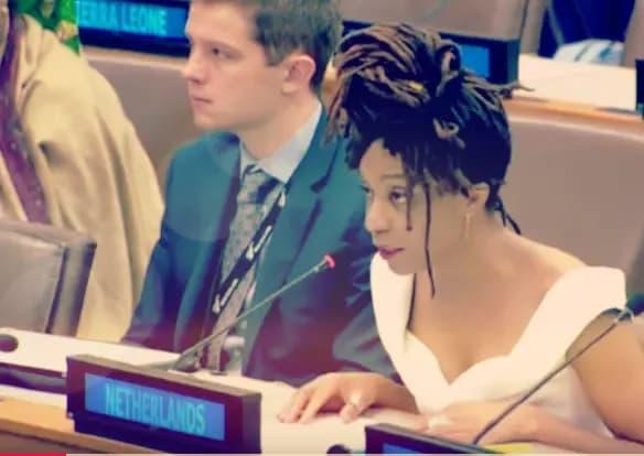 VN-huilstruik Clarice Gargard vertegenwoordigt niet ons land maar slechts haar lege huls