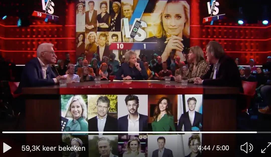 Nederlandse Talkshows™: een onafgebroken sollicitatie om nog een keer te mogen komen